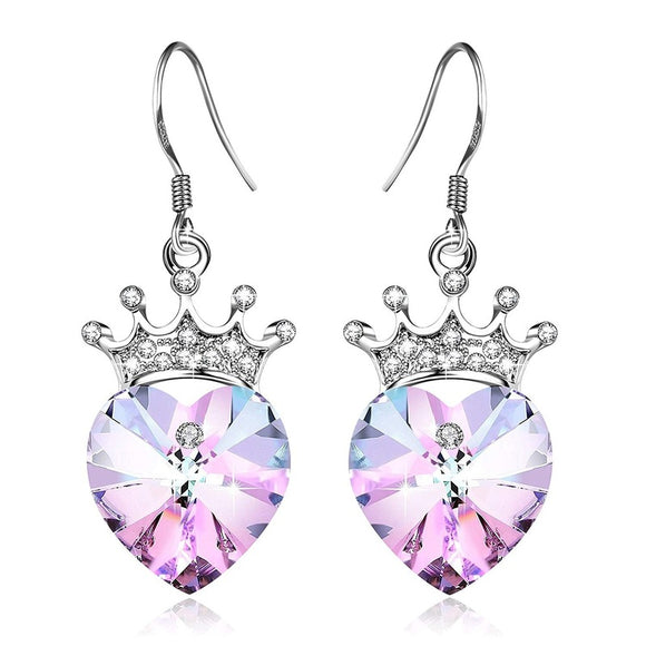 Fashion S925 Elegant Drop Earrings for Women