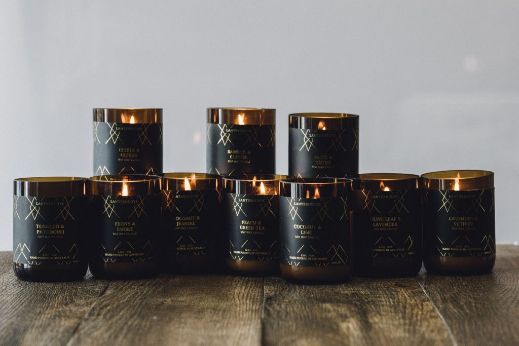 Amberesque 8oz Soy Wax Candles