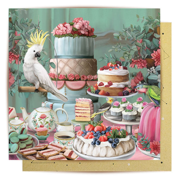 Mini Card - Lavish Tea Party