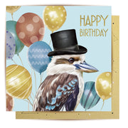 Mini Card - Mr Kookaburra