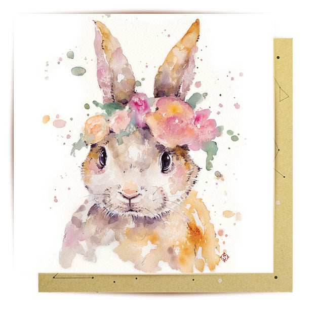 Pretty Bunny Greeting Card