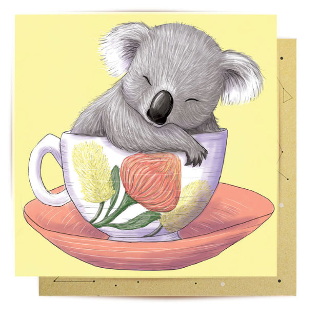 Mini Card - Baby Teacup Koala