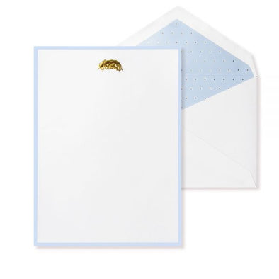 Alice Pleasance A5 Writing Set - Feather - Misty Blue - Box of 25