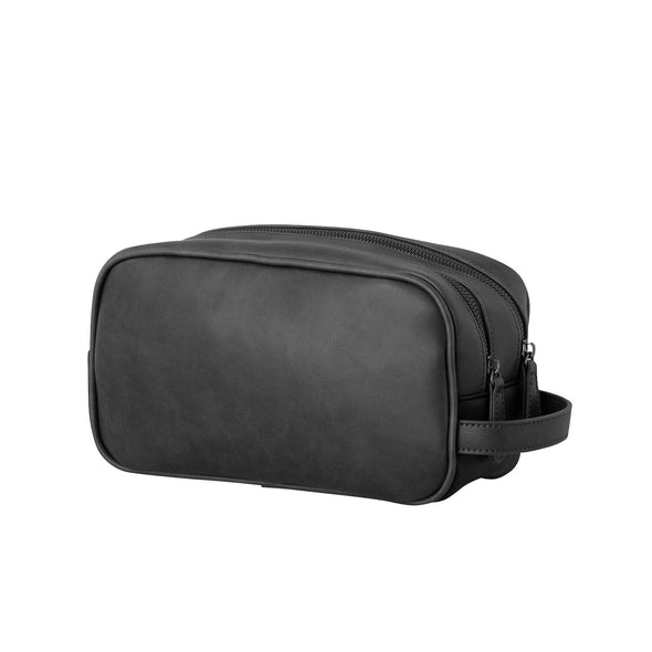 Mens Toiletry and Wash Bag - Black by Black Caviar