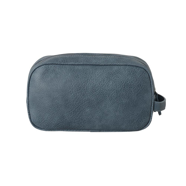 Black Caviar Toiletry Bag Paul Steel Grey