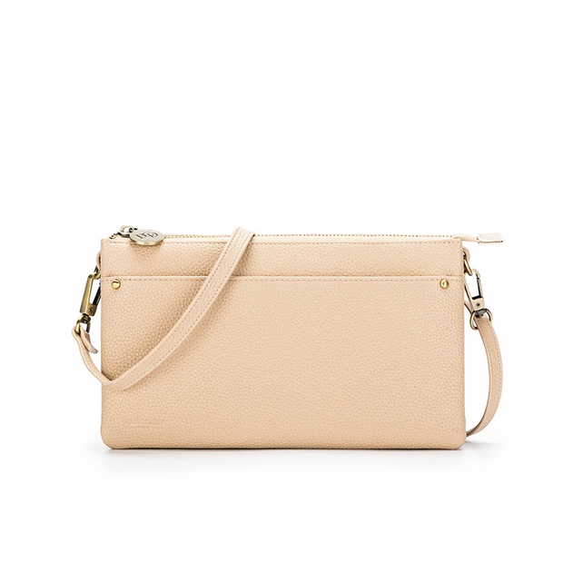 Millie Clutch/Crossbody Bag - Linen