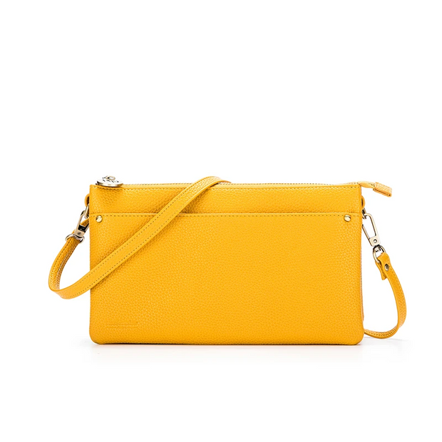 Millie Clutch/Crossbody Bag - Yellow