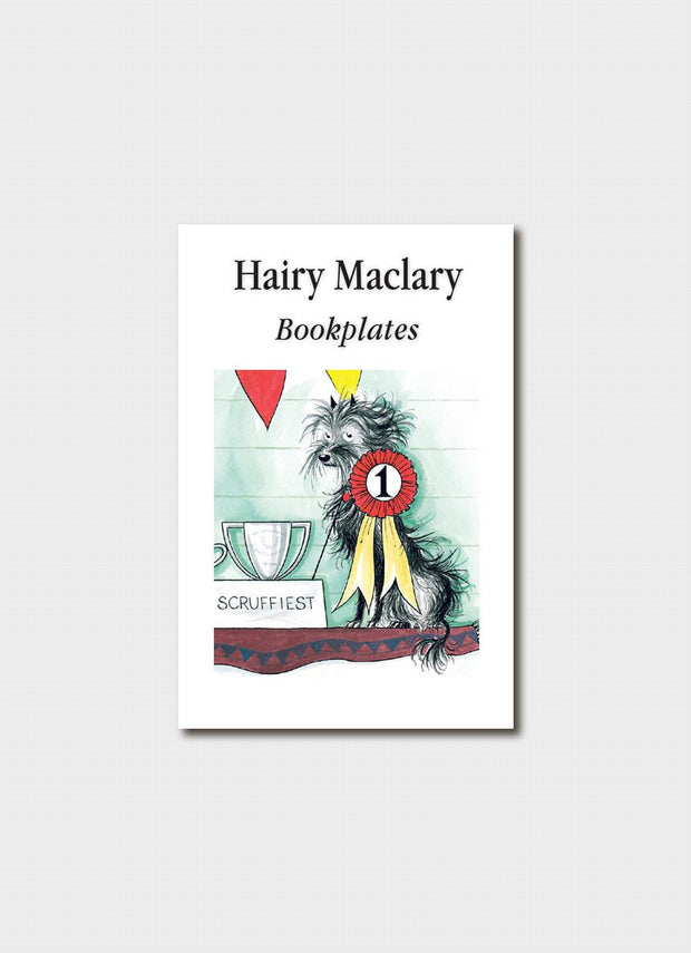 Hairy Maclary Scruffiest Dog Award Bookplates