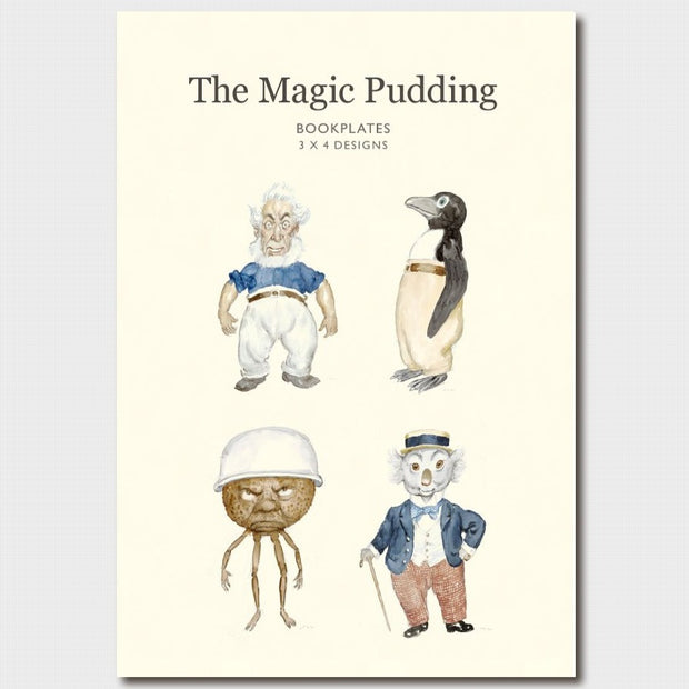The Magic Pudding Bookplates
