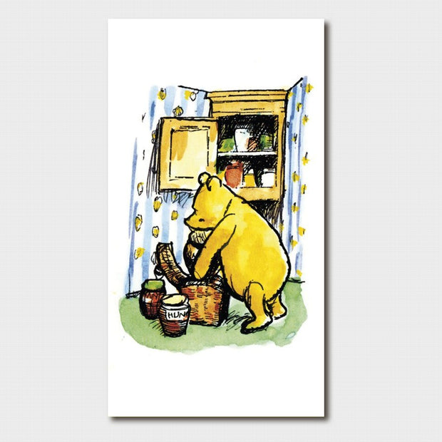 Winnie the Pooh - Pooh in the Cupboard Card