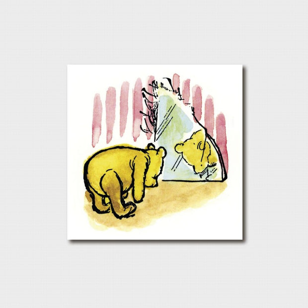 Winnie the Pooh - Touch your Toes Card