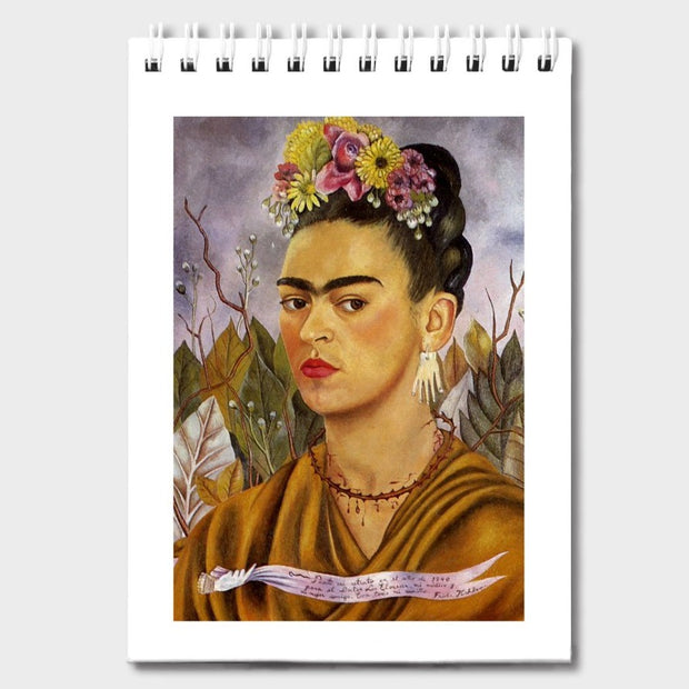 Frida Kahlo Notepad - Self-Portrait dedicated to Dr. Eloesser