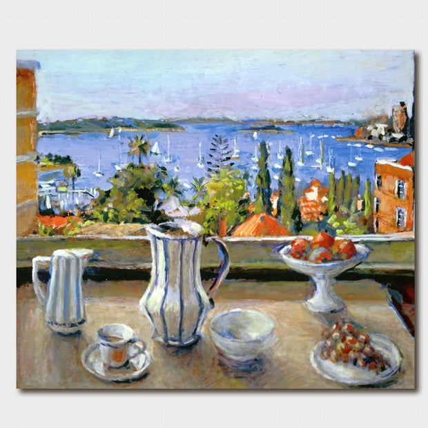 Margaret Olley Still Life & Harbour View Card