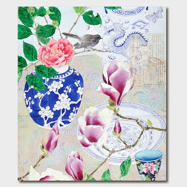 Gabby Malpas Winter Flowers Card