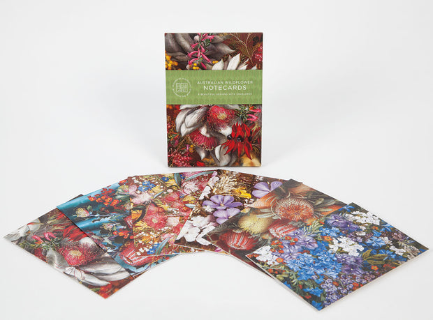 Australian Made Wildflowers Boxed Cards by Bell Art