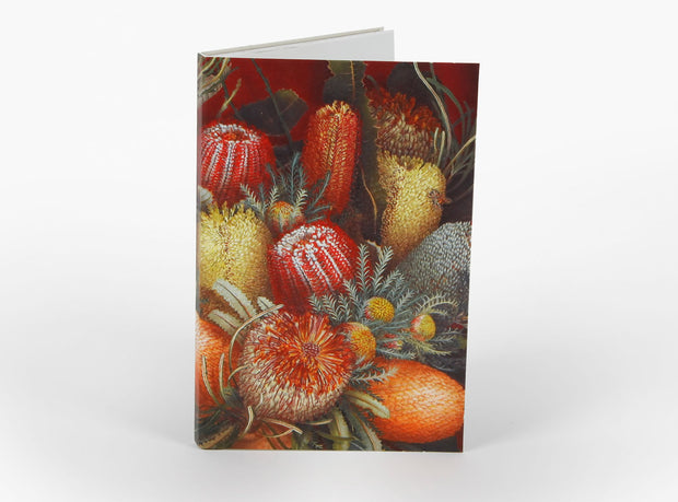 Wildflower Notepad - Banksia by Bell Art