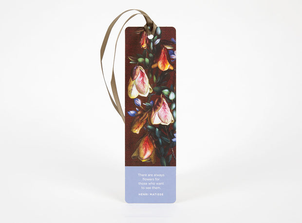 Wildflower Bookmark - Qualup Bell Panel