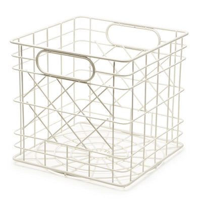 Mini Wire Crate - White by Bendo