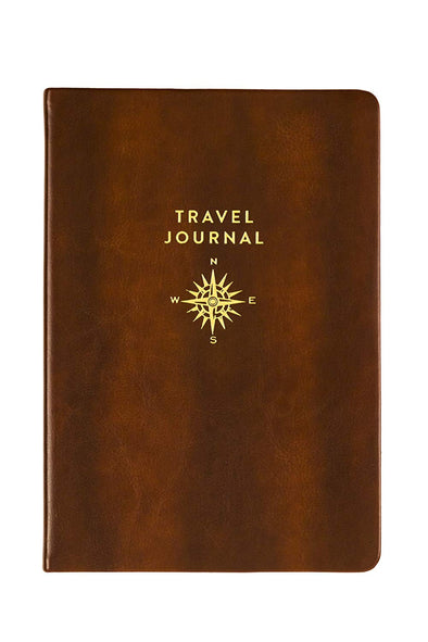 Gold Compass Travel Journal