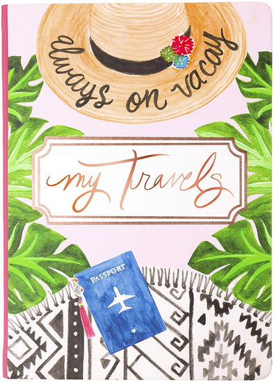 Always on Vacay Travel Journal