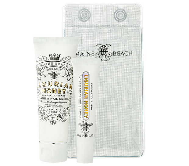 Organic Ligurian Honey Essentials Pack by Maine Beach
