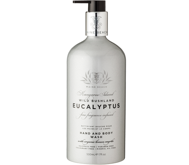 Eucalyptus Hand & Body Wash 500ml by Maine Beach