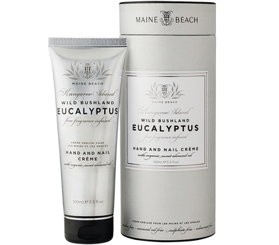 Eucalyptus Hand & Nail Crème 100ml by Maine Beach