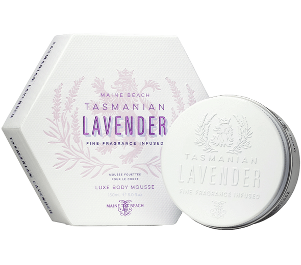 Tasmanian Lavender Body Mousse 150ml by Maine Beach