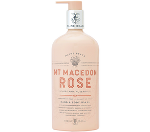 Mt Macedon Rose Hand & Body Wash 500ml by Maine Beach