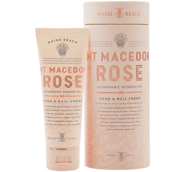 Mt Macedon Rose Hand & Nail Creme 100ml by Maine Beach