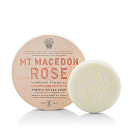 Mt Macedon Rose French Milled Soap 110g by Maine Beach