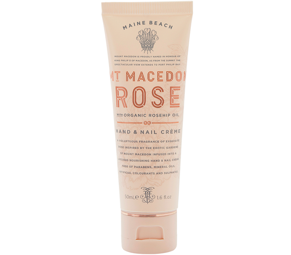 Mt Macedon Rose Hand & Nail Creme 50ml by Maine Beach