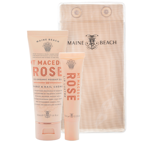Mt Macedon Rose Essentials Pack by Maine Beach