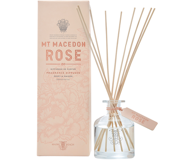 Mt Macedon Rose Diffuser 200ml by Maine Beach