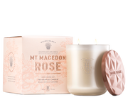 Mt Macedon Rose Soy Candle 380g by Maine Beach