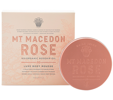 Mt Macedon Rose Body Mousse 150ml by Maine Beach