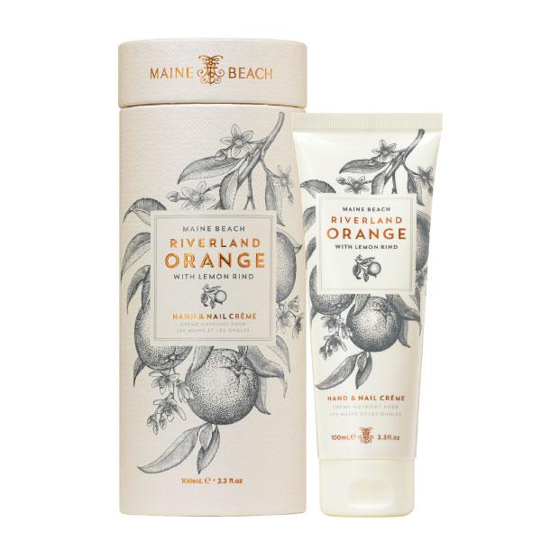 Maine Beach Riverland Orange (with Lemon Rind) Hand & Nail Creme 100ml