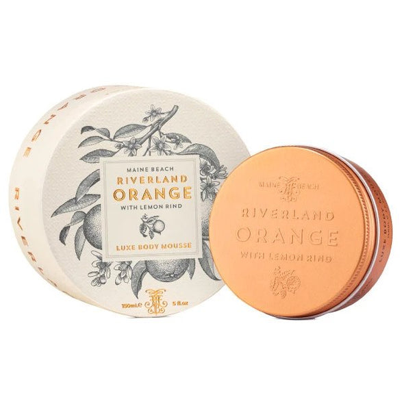Maine Beach Riverland Orange (with Lemon Rind) Luxe Body Mousse 150ml