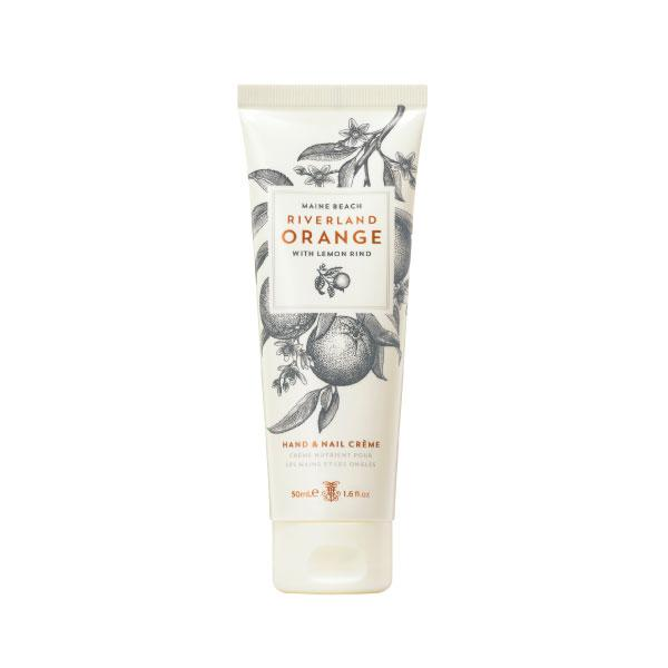 Maine Beach Riverland Orange (with Lemon Rind) Hand & Nail Creme 50ml