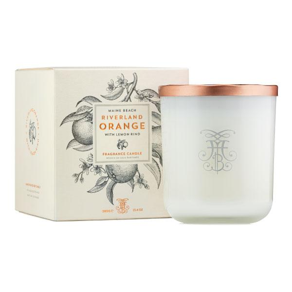 Maine Beach Riverland Orange (with Lemon Rind) Soy Candle 380g