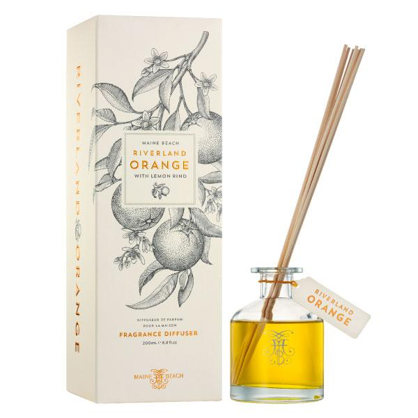 Maine Beach Riverland Orange (with Lemon Rind) Diffuser 200ml