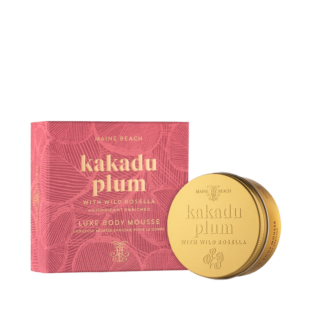 Kakadu Plum with Wild Rosella Luxe Body Mousse 150ml
