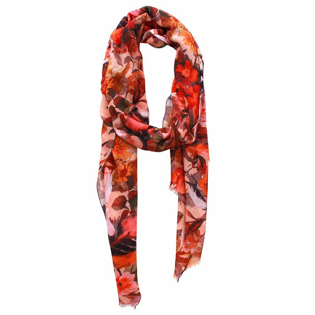 Avery Printed Merino Wool Wrap