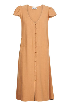 Juarez Dress - Caramel by Eb & Ive