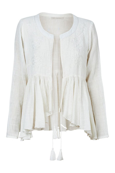 Sula Jacket - White by Eb & Ive