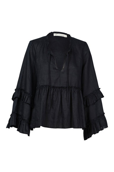 Sequoia Blouse - Jet by Eb & Ive