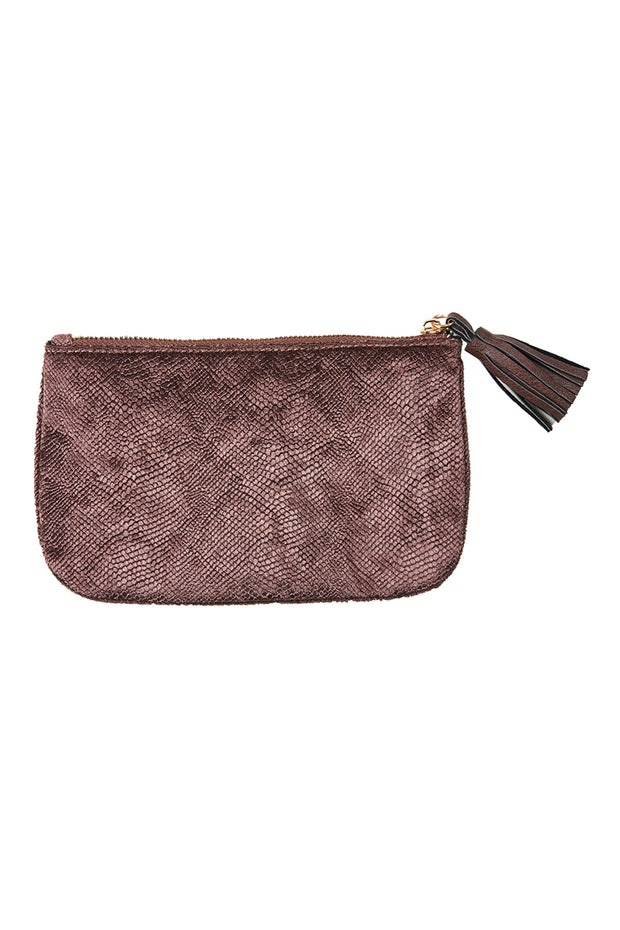 Lavaux Pouch - Chocolate by Eb & Ive