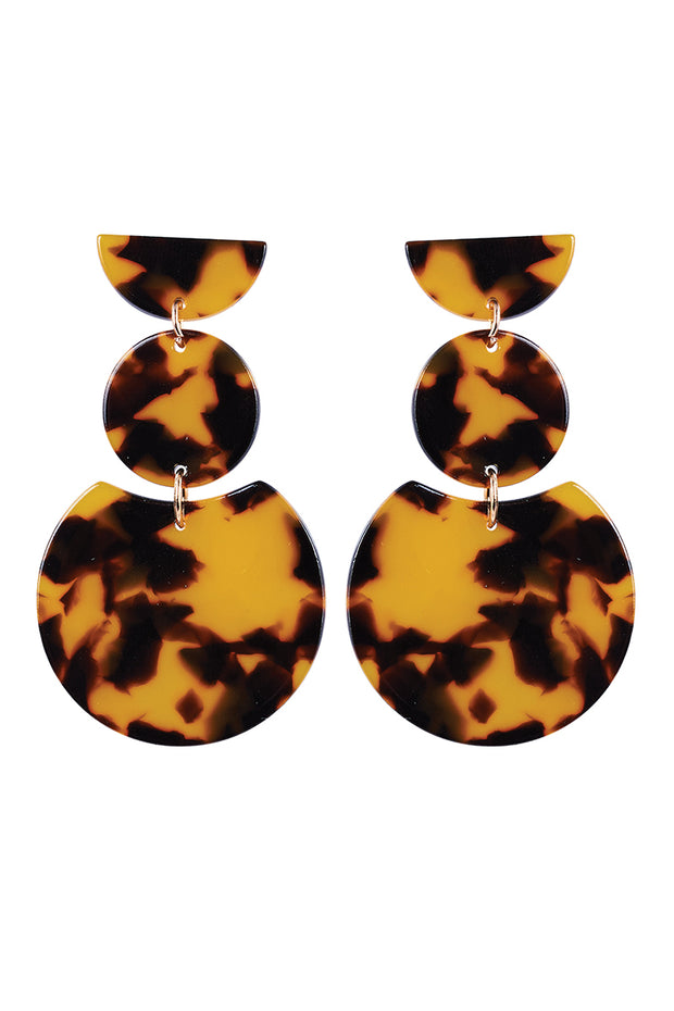 Mendoza Tier Earring - Caramel by Eb & Ive