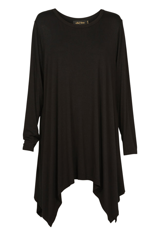 Eb & Ive Oprah Freedom Top - Onyx