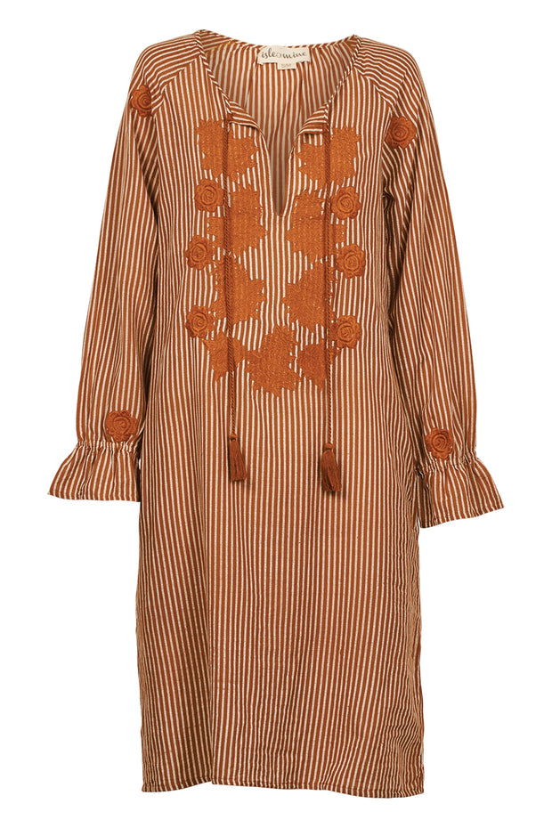 Isle of Mine Wanderlust Dress - Caramel